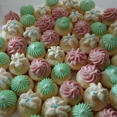Minicupcakes drei Aromen