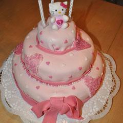 Hello Kitty Geburtstagstorte