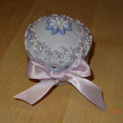 Cupcake mit Fondant