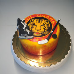 SCL Tigers Geburtstagstorte