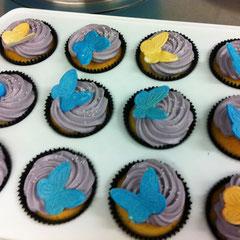 Cupcakes butterflies