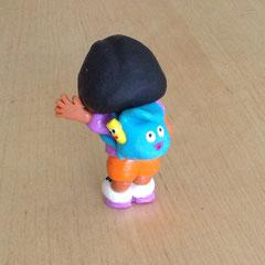 Dora Caketopper Fimo zum Behalten als Andenken