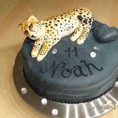 Birthday Cake Cheetah