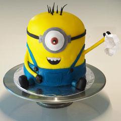 Abschieds Minions Geburtstagstorte