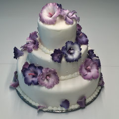 Hibiscus Torte