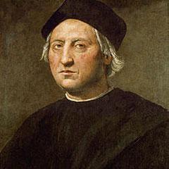 Peinture de Christophe Colomb à l'âge de 30 ans.