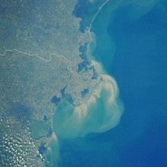 Estuaire du Pô.