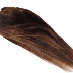 Artikel:1093-05 // Farbe: rotbraun // Tressenlänge: 20 cm //  verarbeitete Tressenbreite: 1,00 m // Preis:  69,90 Euro
