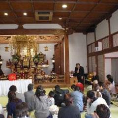 福岡市東区香住ケ丘の妙法寺での節分祭に参加致しました。