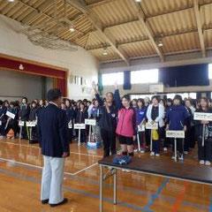 開会式での大会会長挨拶をする藤本あきのり議員