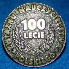 Medal okolicznościowy z okazji 100 lecia Związku Nauczycielstwa Polskiego