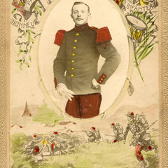 François Reynaud, frère de Marie Cyne, né en 1888 (Coll. RIBOULET).