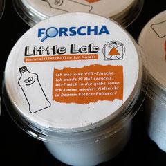 FORSCHA-Messe 2015: In diesem PET-Becher steckt nicht nur eine recycelte PET-Flasche aber auch eine grüne Botschaft