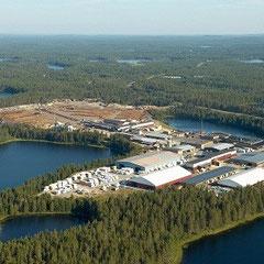 Werksgelände in Finnland