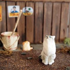 tailroad factoryさんの猫フィギュア&ジオラマ