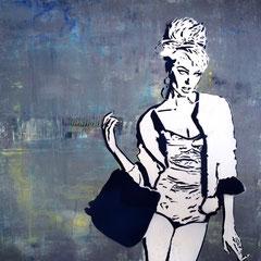 CANDICE 222 | acryl auf leinwand | 70x70 cm