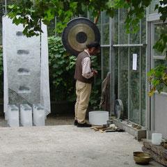 Inzicht in Zicht met gong ernaast