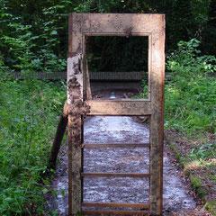 Projectie, de deur naar.....het pad