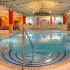 Schwimmbad und Sauna auf Usedom