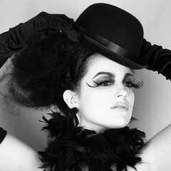 Portraits féminins en noir et blanc