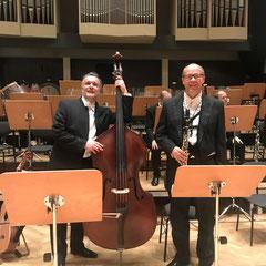 Konzert mit der Jenaer Philharmonie und meinem Bruder Peter 11/19