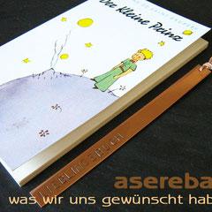 Stabiles Lesezeichen aus Kupfer - mit Wunschtext