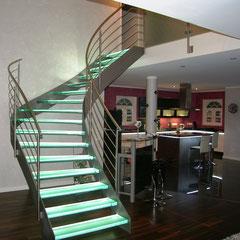 Treppe des Jahres 2010 - Glastreppe München