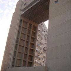 Arche de la résidence Mediterranée