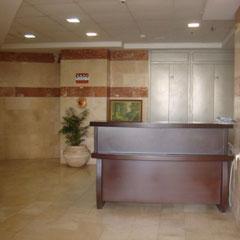 Gardien au lobby