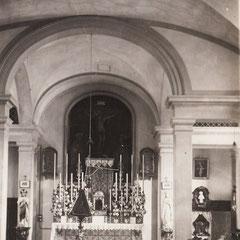 Firenze - Coro interno del Carmelo a p. Savonarola dove professarono le Sorelle Monterisi