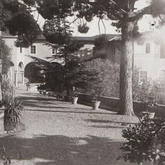 Firenze - Villa Medici - il giardino prospiciente l'Archivio in cui ha lavorato Suor Maria Minima anni '40