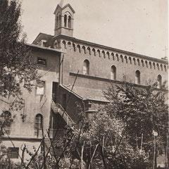 Firenze - Chiostro del Carmelo a p. Savonarola dove professarono le Sorelle Monterisi