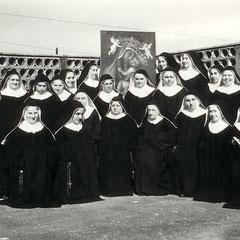 La Comunità della S. Croce di Lucca negli anni '50.