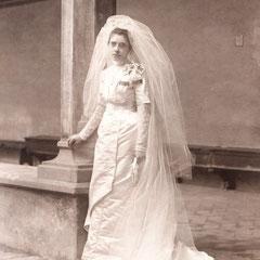 Suor Celestina Monterisi il giorno della vestizione 13 gennaio 1912