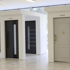 Große Inotherm und Schüco Haustüren Ausstellung bei Düsseldorf