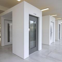 Große Inotherm und Schüco Haustüren Ausstellung bei Aachen