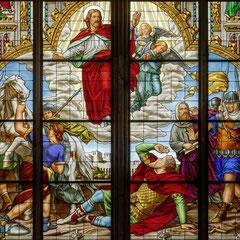Ausschnitt aus dem Paulusfenster