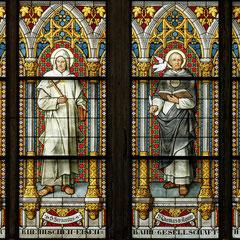 Ausschnitt aus dem Petrusfenster