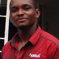 Radjabu Shabani - wird zusammen mit Hornella Mpolo für den Aufbau und den Betrieb des InternetCafé's zuständig sein.