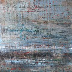 """""""Nektar der Unsterblichkeit"""", 140 x 100cm, Acryl/Mischtechnik auf LW"""