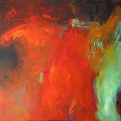 """Adom"", 100 x 100cm, Acryl auf LW"