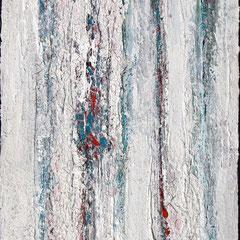 """Lichtmeer"", 90 x 60cm, Acryl/ Mischtechnik auf LW,"