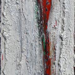 """Adipathi"", 50 x 20cm, Acryl/Mischtechnik auf Museo,"
