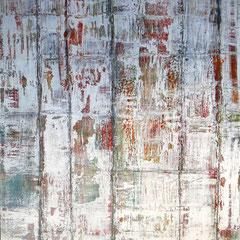 """""""Zeitblüten II"""", 160 x 120 cm, Acryl/Mischtechnik auf LW"""