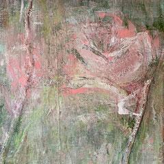 """""""Tierra de Loto"""", 140 x 100cm, Acryl/Mischtechnik auf LW"""