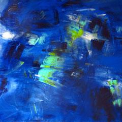 """""""Peleton"""", 120 x 150cm, Acryl auf LW"""