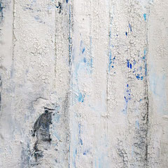 """Quo vadis"", 100 x 70cm, Acryl/Mischtechnik auf LW"