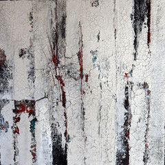 """""""Entfaltung"""", 100 x 100cm, Acryl/Mischtechnik auf LW"""