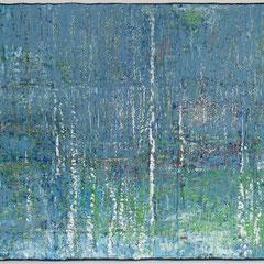 """""""Elfenweiher"""", 75 x 210 cm, Acryl/Mischtechnik auf LW"""