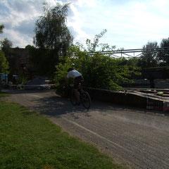 Benne beim 24h Rennen in Duisburg bei ca. 40 km/h